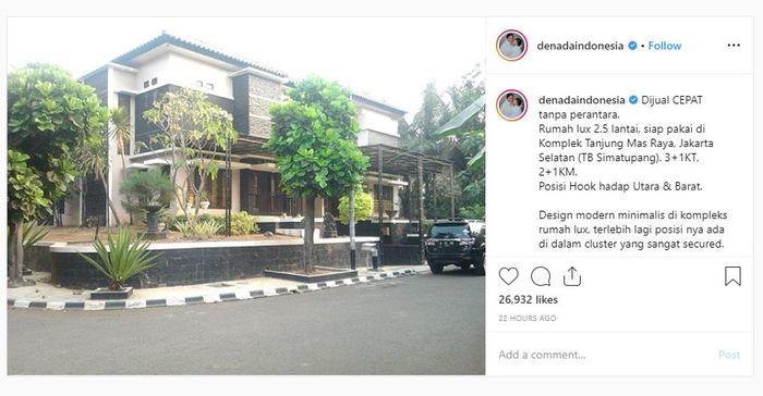 Uya Kuya saat ditemui Grid.ID di kawasan Tendean, Jakarta Selatan, Kamis (15/8/2019).