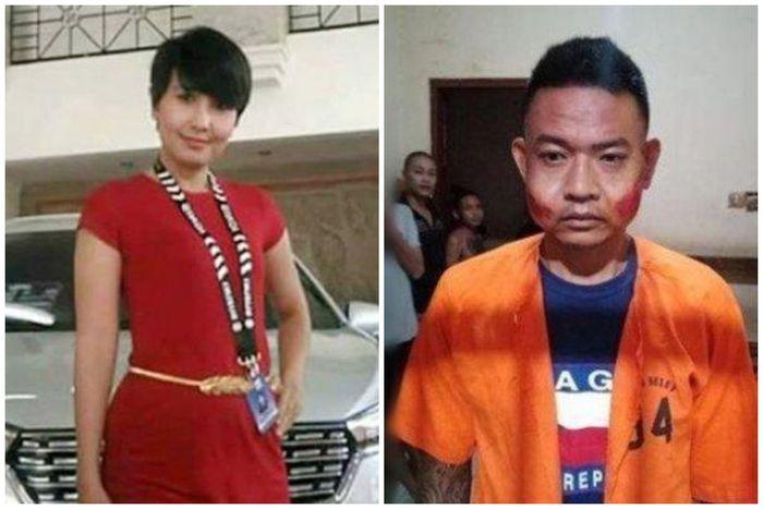 Ni Putu Yuniawati, SPG cantik yang dibunuh Bagus Putu Wijaya yang mengaku sebagai pacarnya.