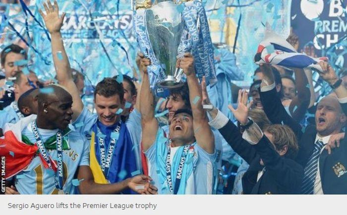 Manchester City juara Liga Inggris 2011-2012