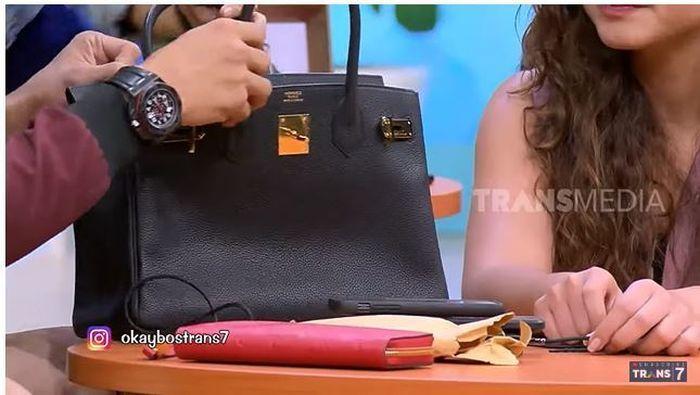 Tas Hermes milik Ussy Sulistiawati