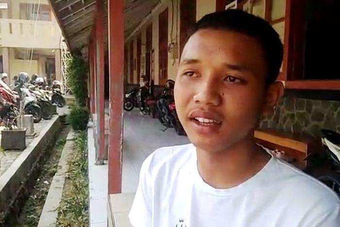 Perasaan Muhammad Ridwan, Siswa SMK yang Beri Minum