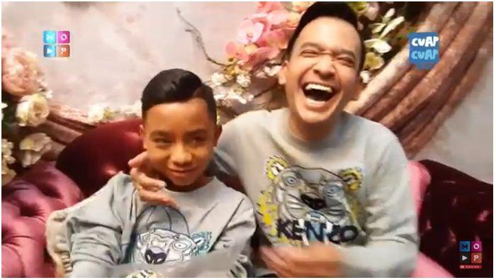 Ruben Onsu tertawa mendengar Betrand Peto menggunakan namanya sebagai nama baru