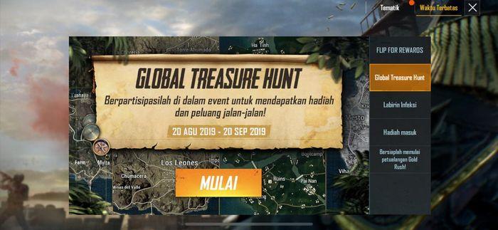 Global treasure Hunting