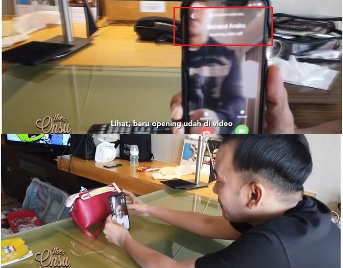 Ruben Onsu memberi sebutan khusus untuk Betrand Peto di ponselnya