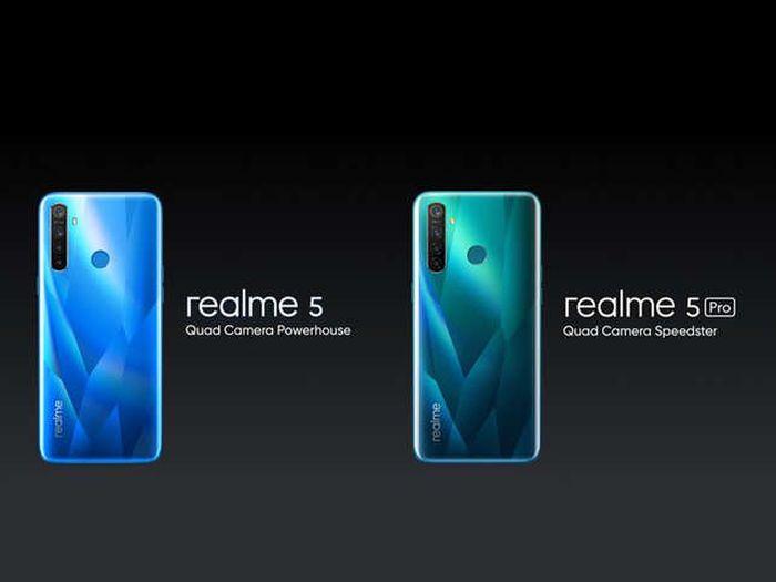 Realme Resmi Luncurkan Realme 5 & 5 Pro, Harganya?