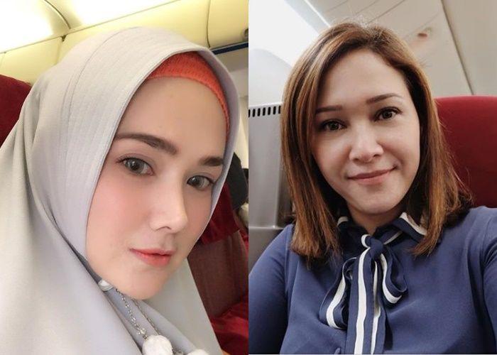 Jauh Beda! Kontrasnya Gaya Mulan Jameela dan Maia Estianty Saat Naik Jet Pribadi, Ada yang Makan Lesehan di Pesawat!
