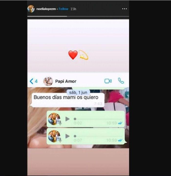 Isi percakapan terakhir Antonio Reyes di WhatsApp.
