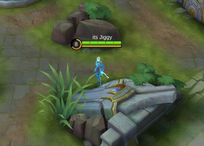 Ling satu-satunya hero Mobile Legends yang bisa berada di atas dinding