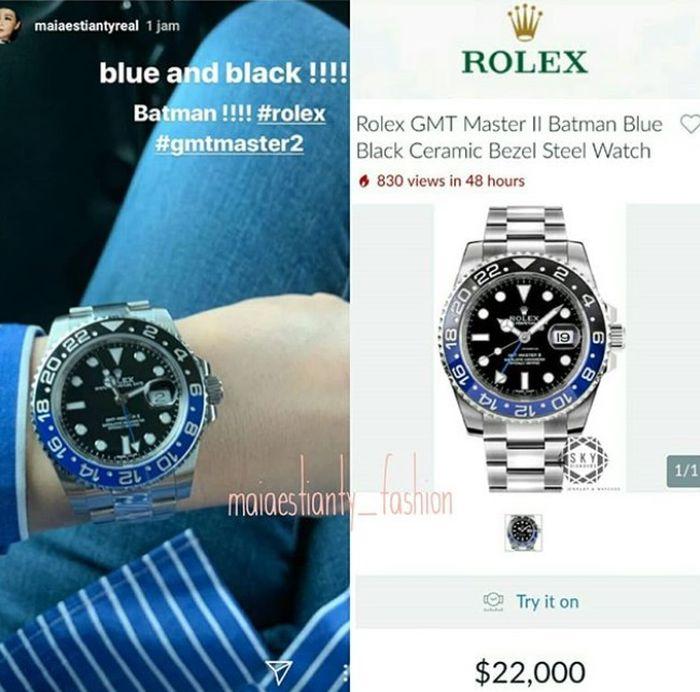 Rolex GMT Master II Batman Blue Black Ceramic Bezel Steel Watch