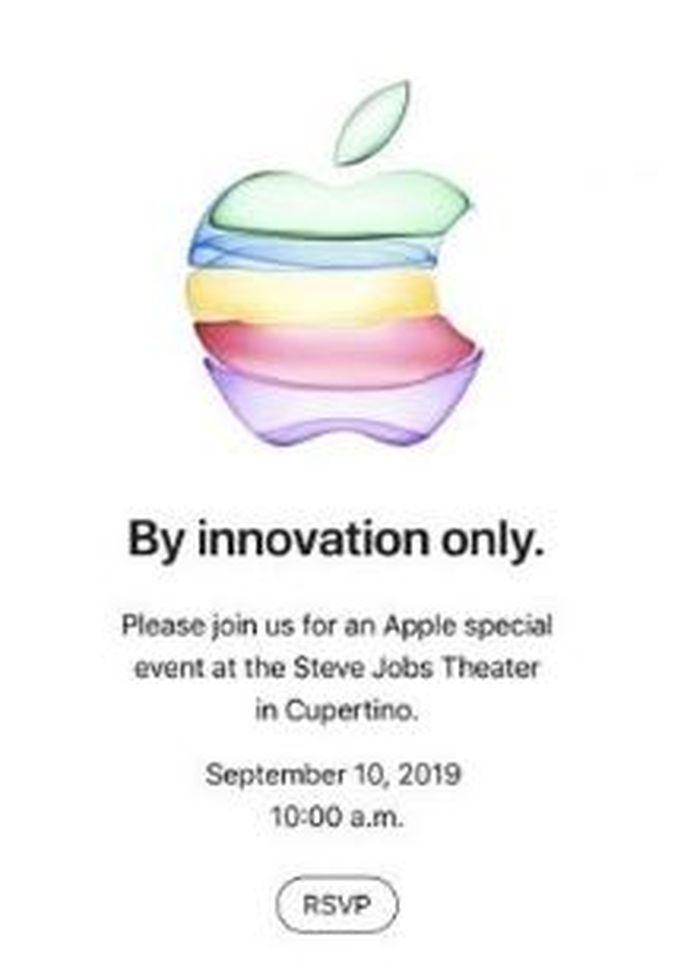 Ilustrasi undangan peluncuran produk iPhone terbaru TechRadar