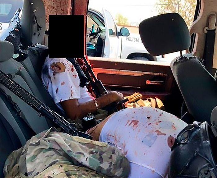 Pistola terbunuh dengan cara yang mengerikan