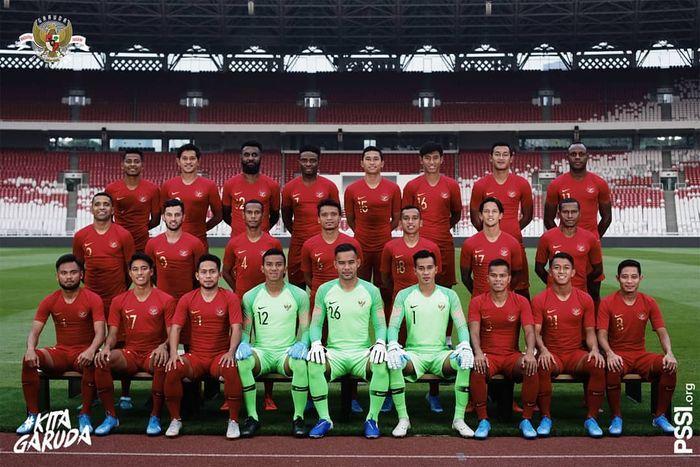 Skuat timnas Indonesia untuk Kualifikasi babak kedua Piala Dunia 2022 zona Asia.