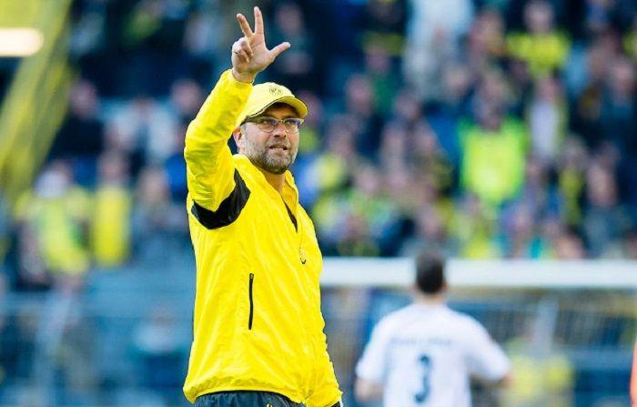 Juergen Klopp saat masih melatih Borussia Dortmund