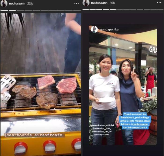 Laku Keras, Inilah Senyuman Veronica Tan saat Layani Pelanggan di Toko Dagingnya