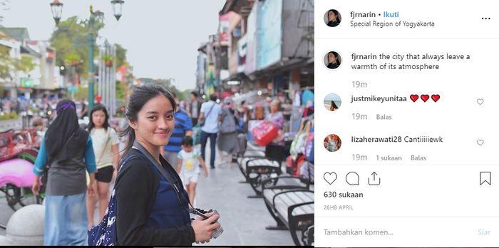 Fajrina Khairiza mantan kekasih Dul Jaelani