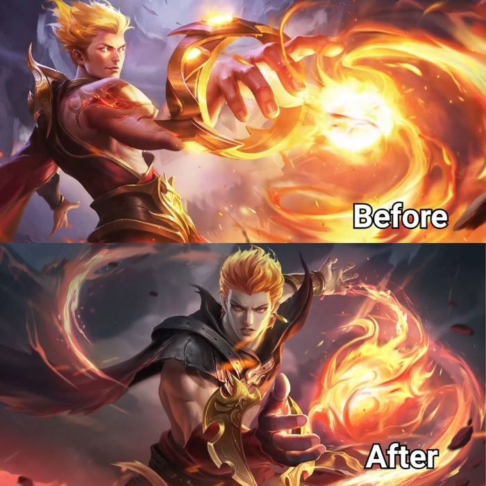 Before After Valir