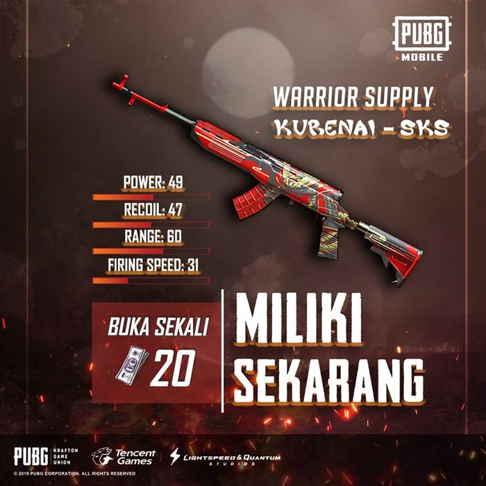 Warrior Supply Kurenai - SKS