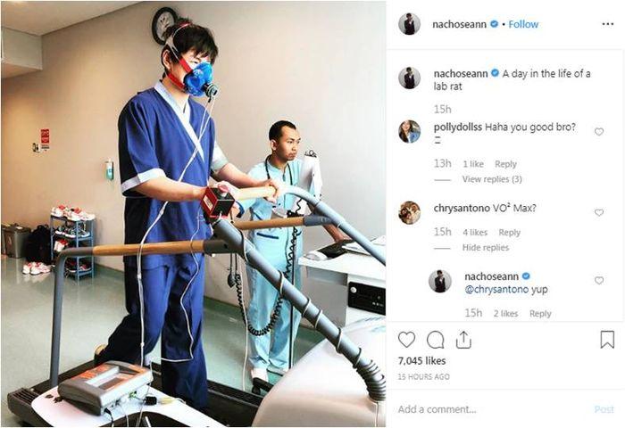 Anak Ahok jalani perawatan (Instagram/@nachoseann)