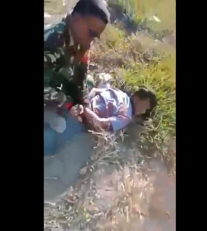 Viral video pelaku pembakar lahan di bekuk TNI