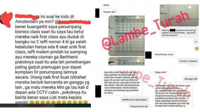 Bocoran bukti liburan Ayu Ting ting dan <a href='https://palembang.tribunnews.com/tag/raffi-ahmad' title='RaffiAhmad'>RaffiAhmad</a> ke Amsterdam