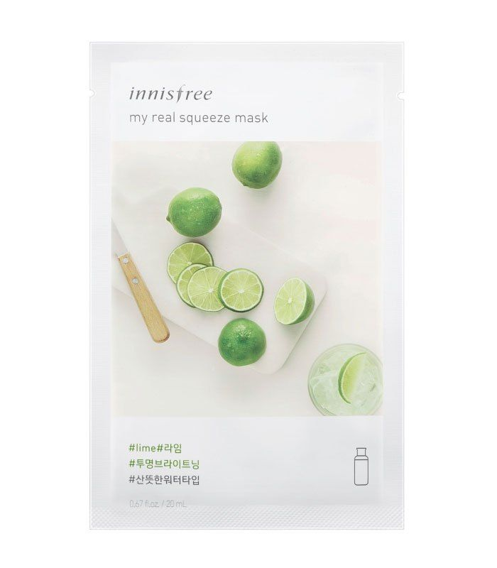 Innisfree My Real Squeeze Mask Lime