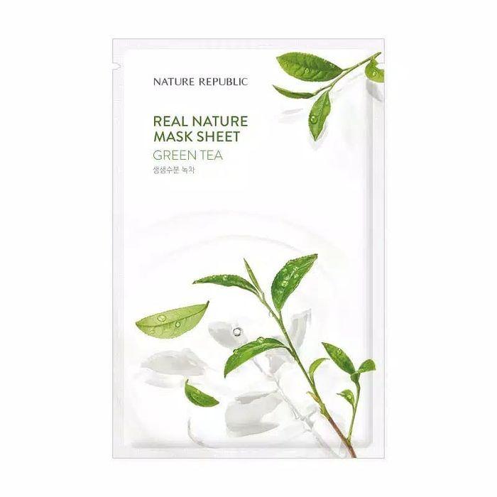 Nature Republic Real Nature Mask Sheet Green Tea