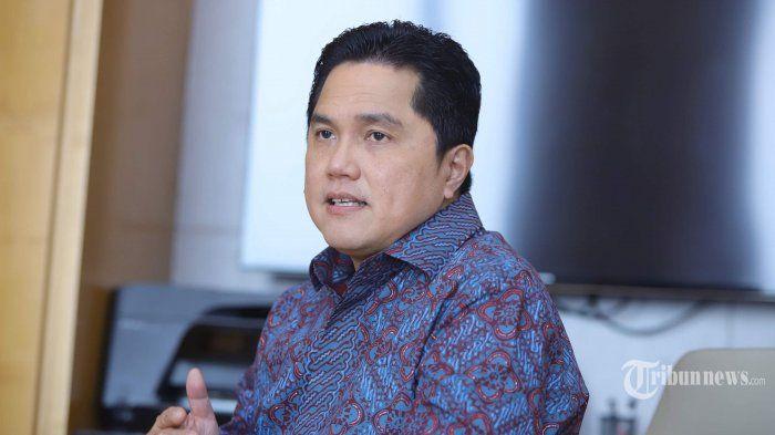 Pengusaha dan mantan Ketua Tim Kampanye Nasional (INASGOC), Erick Thohir