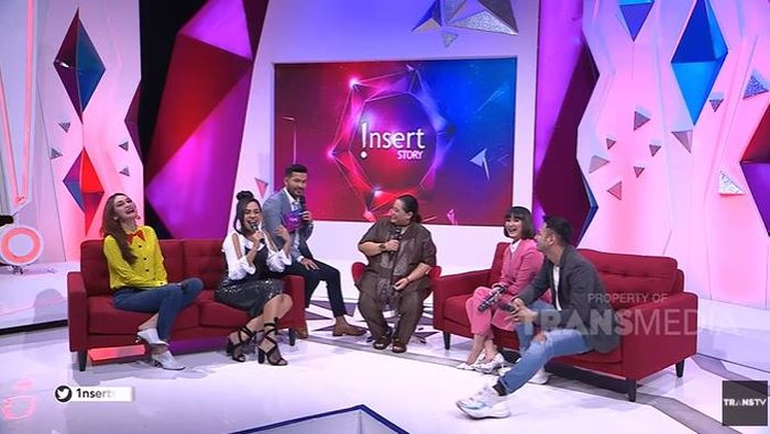 Para panelis artis di Insert Story