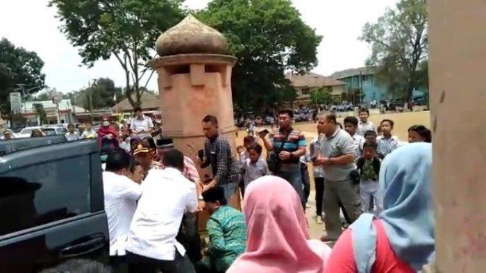 Detik-detik Wiranto diserang di Pandeglang