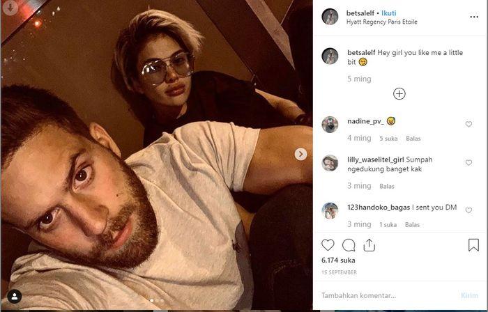 Dikabarkan Dekat Dengan Nikita Mirzani Akun Instagram Bule Perancis Ini Dipenuhi Komentar Warganet Indonesia Semua Halaman Nakita