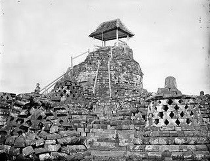 Foto lama Borobudur