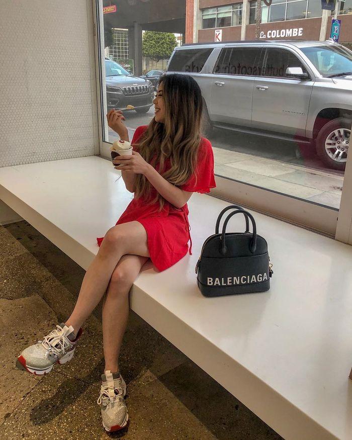 Gaya fashion hangout ala Clarissa Tanoesoedibjo