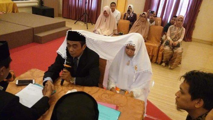 Akad nikah Sulmankar dengan Masnidar.