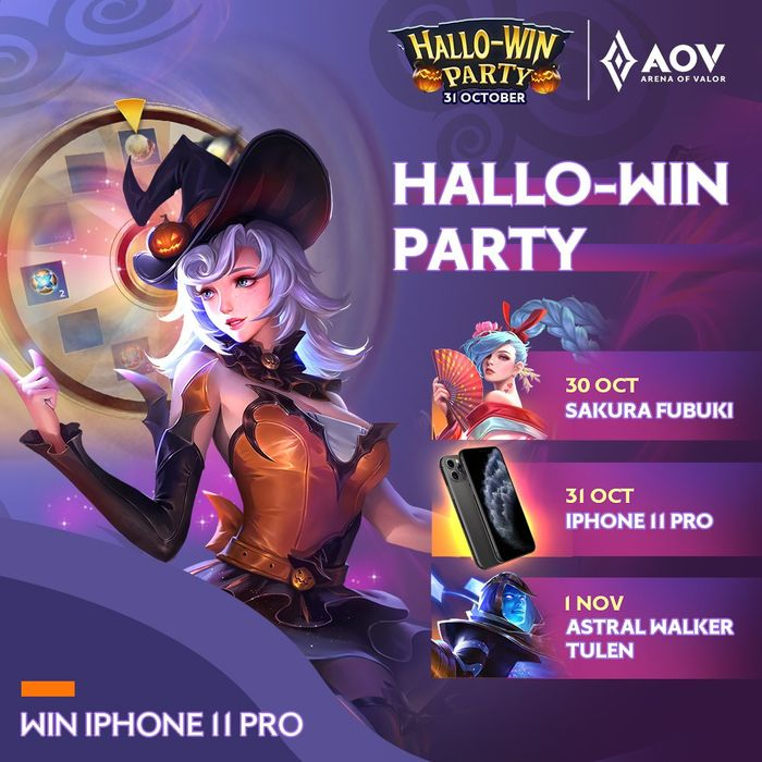 Hallo-Win Party AOV