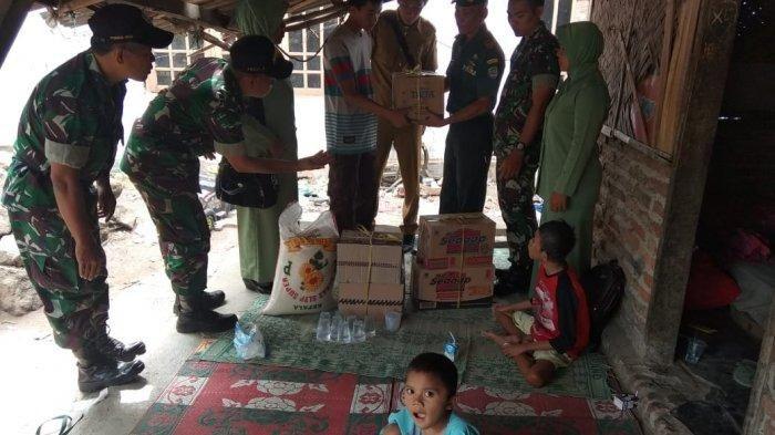 Keempat kaka beradik di Indramyu telah mendapatkan bantuan dari Dinas Sosia setempat.