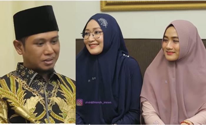 Bertahun-tahun Dimadu, Istri Pertama dan Kedua Lora Fadil Ungkap Firasat Mimpi Sebelum sang Suami Nikah Lagi
