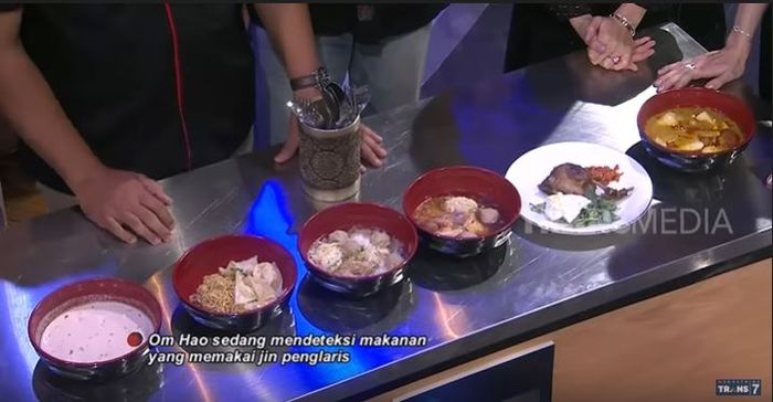 Makanan-makanan yang dideteksi Om Hao