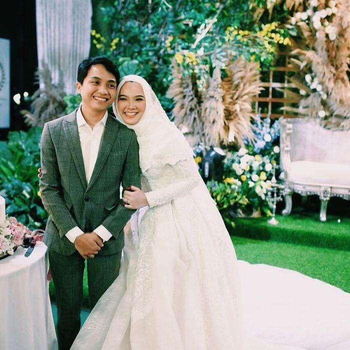 Erin dan Mirul di hari pernikahan keduanya