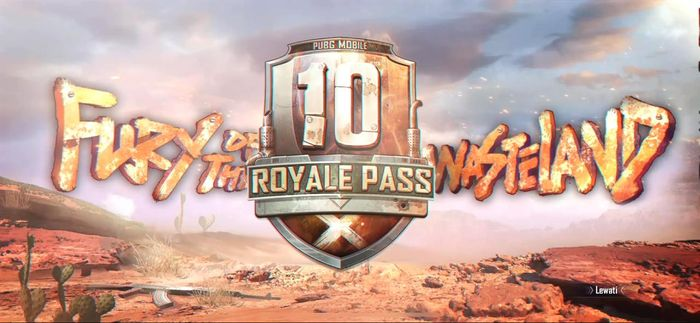 Royale Pass Season 10 Fury of The Wasteland