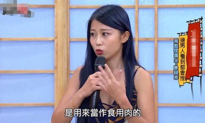 Shasimi ketika muncul di sebuah acara Tv