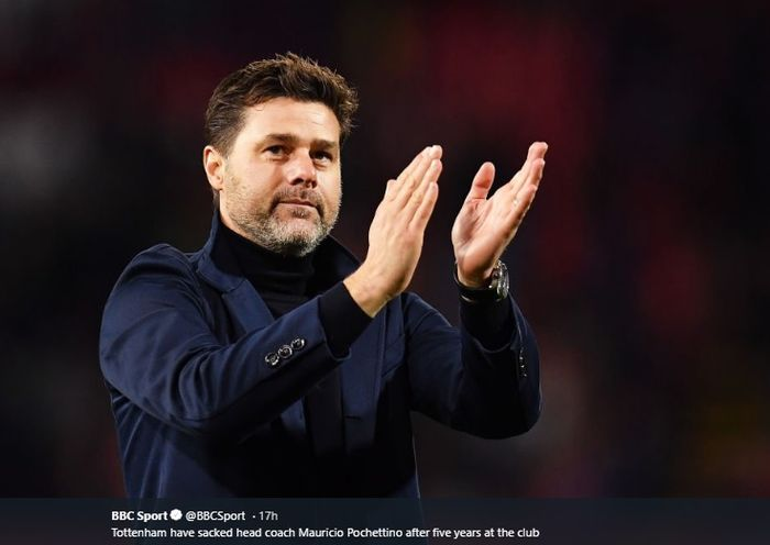 Eks pelatih Tottenham Hotspur, Mauricio Pochettino.
