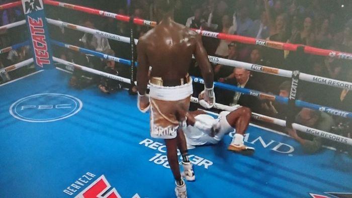 Duel Deontay Wilder vs Luis Ortiz II di MGM Grand Arena, Las Vegas, Minggu (24/11/2019) pagi WIB.