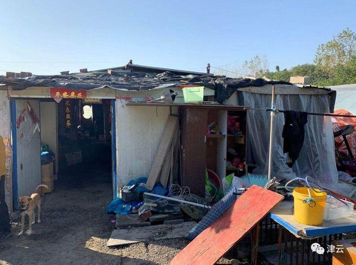 Rumah keluarga Lu Shijie, bocah yang dibully teman dan guru sekolah cuma gara-gara berasal dari keluarga miskin.