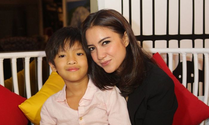 Tia Ivanka dan Anaknya