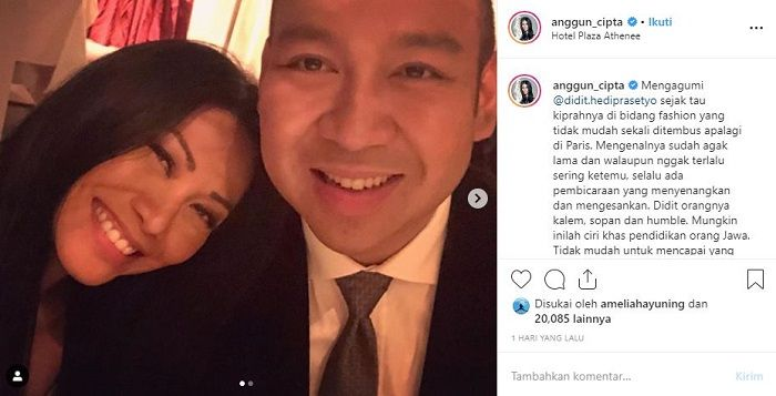 Anggun C Sasmi bongkar sifat anak Prabowo Subianto