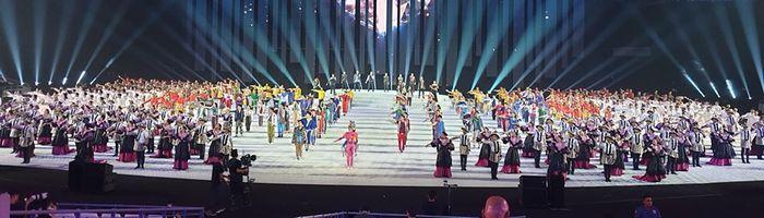 Persiapan Upacara Pembukaan SEA Games 2019 Filipina.