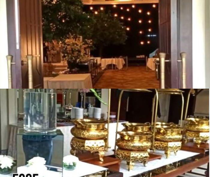 Venue pernikahan Citra Kirana dan Rezky Aditya