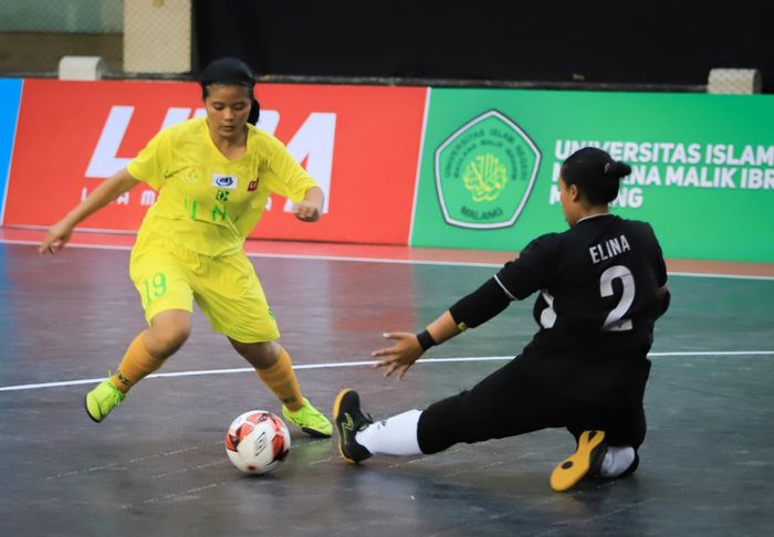 Aksi LIMA Futsal Nationals Season 7.