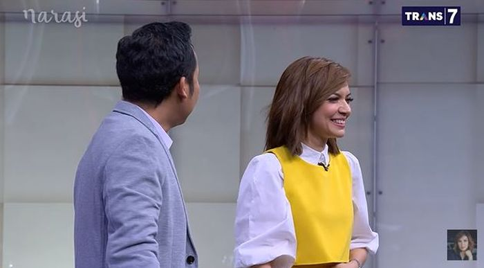 Denny Cagur berikan gombalan untuk Najwa Shihab