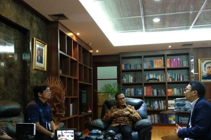 Kunjungan Kompas Gramedia Group ke Kantor BPS